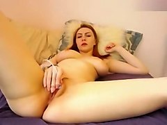 NataliaGrey: She cums with her nipple-clamp chain in her mouth like a bit