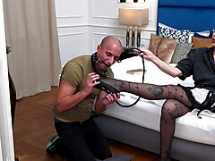 Mature domina mom and young boy fuck each other