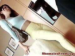 newhalf ladyboy pounded before doggystyle
