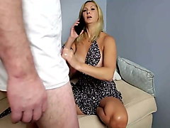 stepmom & stepson affair 99 (your dad is on phone)
