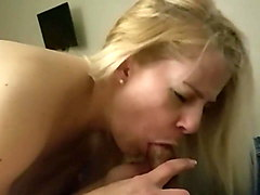 bbbj and doggy with bubble butt blonde escort