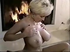 Horny Homemade movie with Blonde, MILF scenes