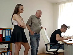 DADDY4K. Topnotch cutie isnt against old and young sex
