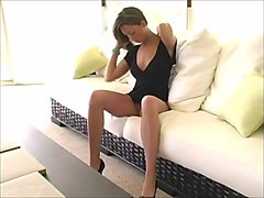 Black Dress and Vibrator