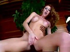 Hottest pornstar in horny redhead, big tits porn video
