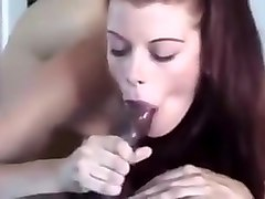 White gfs gets bbc cum