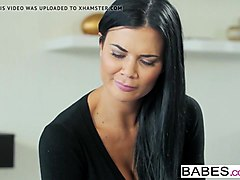 babes - step mom lessons - cozy by the fire starring jay smo