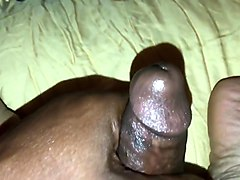 creamy pussy masturbation with pulsating orgasm