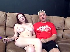 Busty Teen Jessica Robbins Riding Boner