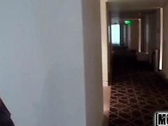 tan lined hottie video starring abella johnson - mofos.com