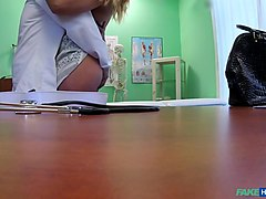 Nicole Vice in Doctor Fucks Minx in Job Interview - FakeHospital