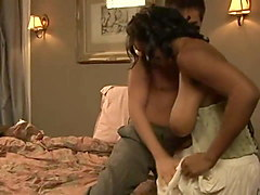 black maid fuck her boss