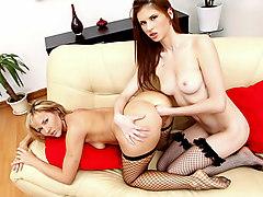 Lavanda & Zlata in Ass Fisting Lesbians - NoBoring
