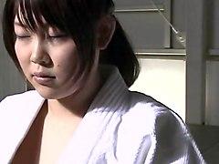 Japanese lesbian judo