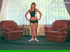 average ukrainian teen promokashka is a gymnast