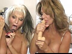 Busty Mommy Deauxma Helps Hubby Ass Fuck Hot Sally DAngelo!