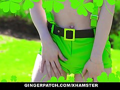 gingerpatch - hairy ginger gets fucked on st. patty's day
