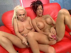 Best pornstars Sensual Jane and Antonia Deona in incredible masturbation, dildos/toys xxx movie