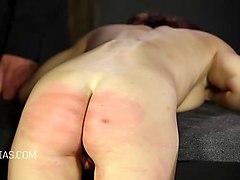 girls whipped on their back and bottom