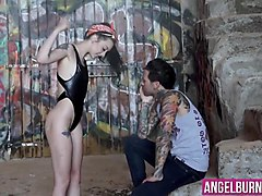juicy bitch with tattoos knows how to ride a rock hard cock