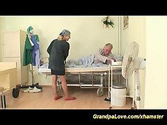 grandpa in love with hot nurse