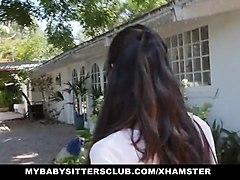 mybabysittersclub - small tit teen fucked by boss