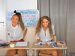 Role Play Masturbation Schoolgirls