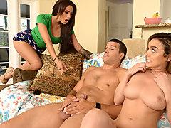 Jamie Valentine & Dillion Harper & Ramon Nomar in Perfect Pussy - MomsBangTeens
