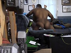 Exciting brunette wife enjoys a big black cock on hidden cam