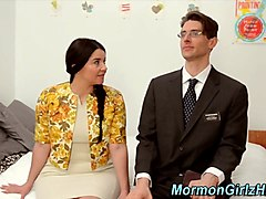 Chubby missionary spunked