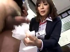 Fabulous Japanese girl Aya Sakurai in Amazing Voyeur, Handjobs JAV video