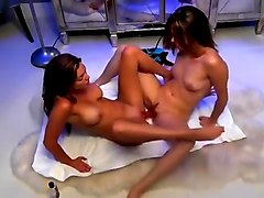 Crazy Homemade movie with Webcam, Lesbian scenes