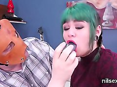 Naughty sweetie is brought in anal loony bin for harsh therapy