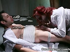 Amazing pornstars Phoenix Askani, Tommy Pistol in Hottest Blowjob, Gothic porn video