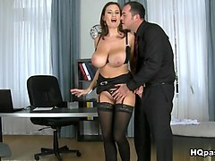 Hottest pornstars Sensual Jane, James Brossman in Horny Big Tits, MILF sex clip