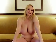 chubby perverted cam lady talked too much while posing topless