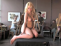 Nude Model Drawing EPISODE Pose 3