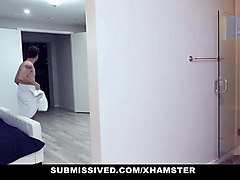 submissived - horny submissive teen plowed by stepdad