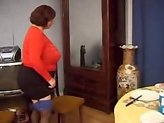 bbw granny olga and her big sexy butt