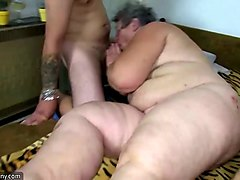 old, women, pounding, pounded, down
