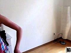 euro blonde - hard first anal video starring cristal rose