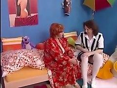 Hairy lesbian grannies