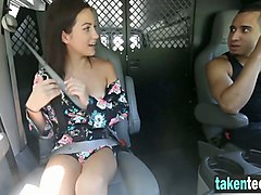 teen picked up tied and fucked hard