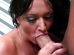 Stunning blonde Emma Heart stabbed in her ass by hard cock