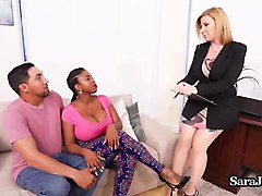 sex therapist sara jay fucks patient maserati & her bf!
