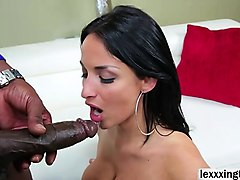 alison tyler gives a lustful blowjob