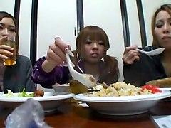 Hottest Japanese chick Yuki Mukai, Aki Nishimiya, Rika Ayane in Fabulous Doggy Style, Hairy JAV clip