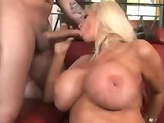 pounded, leather, milf, tit, blondes