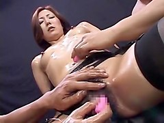Crazy Japanese whore Ryo Sena in Amazing Facial, Masturbation JAV movie