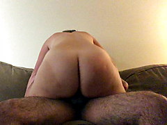 Fat Assed PAWG Riding Big Dick Moaning like Crazy!
